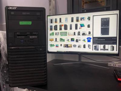Acer Veriton M2640G PC - i3-7100| 8GB| 1TB