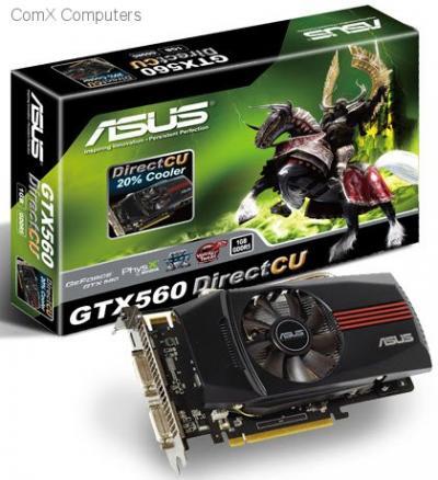 ASUS ENGTX560 DC/2DI/1GD5 GeForce