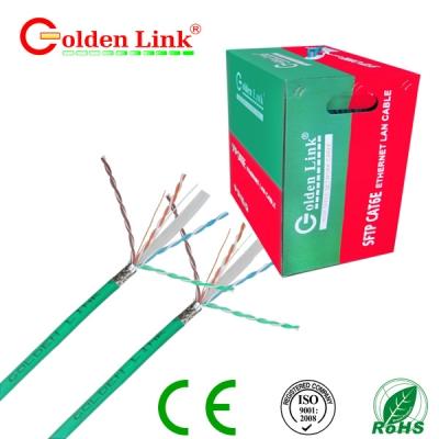Dây cáp mạng Golden Link - 4 pair (SFTP Cat 6e) 100m chống nhiễu