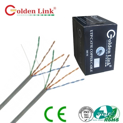 Dây cáp mạng Golden Link Category 5e UTP lõi đồng
