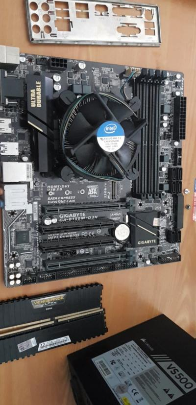 GIGABYTE GA-B150M-D3H - Intel B150 chipset - Socket LGA 1151 DDR4