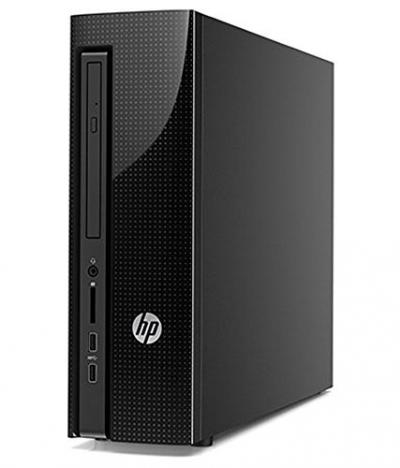 Hp Slimline 260-P021IN (6th gen Core i3-6100T 3.2 GHz/4GB RAM/1TB 7200RPM /Dvd RW/WI-FI/Windows10) Black