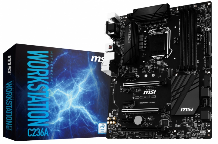 Mainboard MSI C236A WORKSTATION Socket 1151 (C236A WORKSTATION)