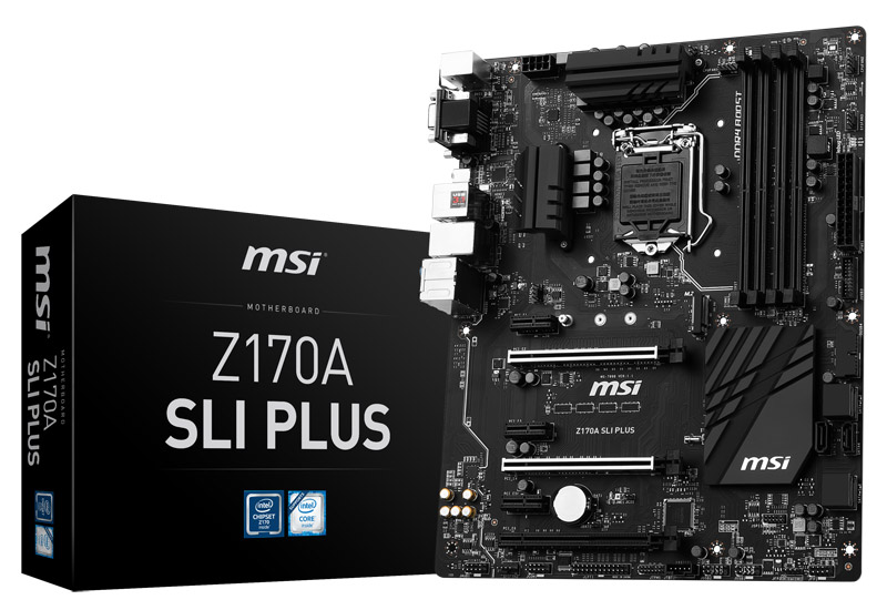 Mainboard MSI Z170A SLI PLUS Socket 1151 (Z170A SLI PLUS)