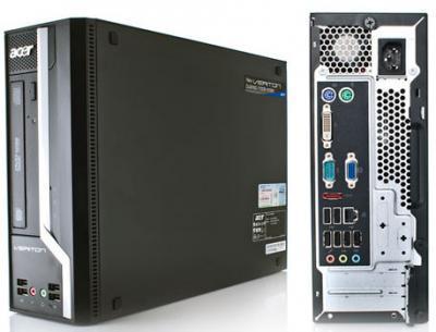 máy tính văn phòng  acer X2611g main h61 g2030 4gb 500gb