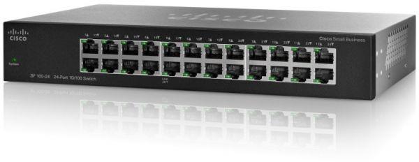Cisco SR224T Rack Switch, 24 Port 10/100 Mbps