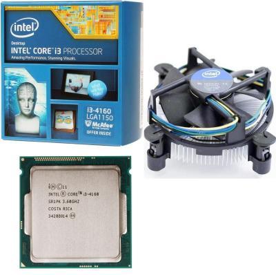 Intel Core i3-4160 3M Cache 3.6 GHz socket 1150
