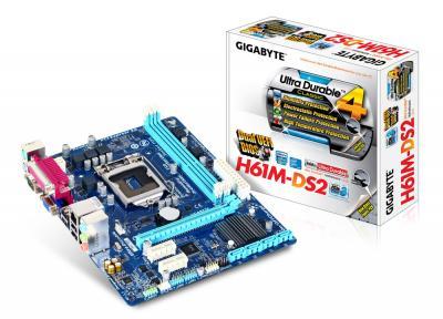 Main Gigabyte H61M-DS2