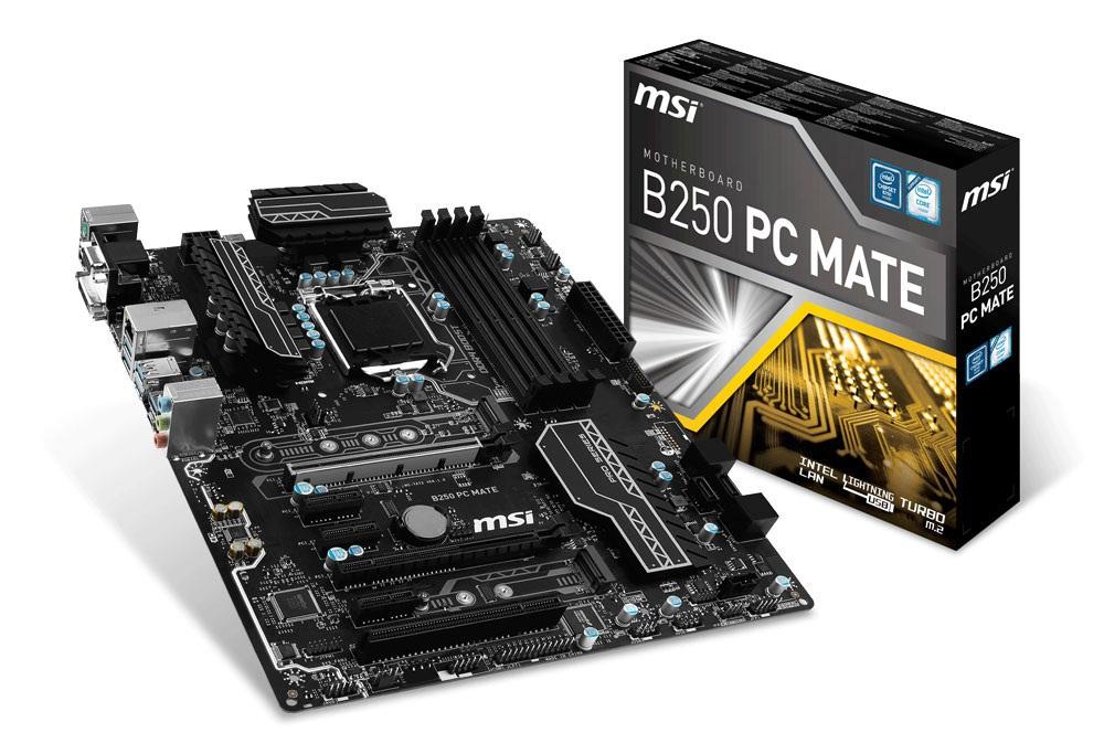 Mainboard MSI B250 PC MATE Socket 1151 (B250 PC MATE)