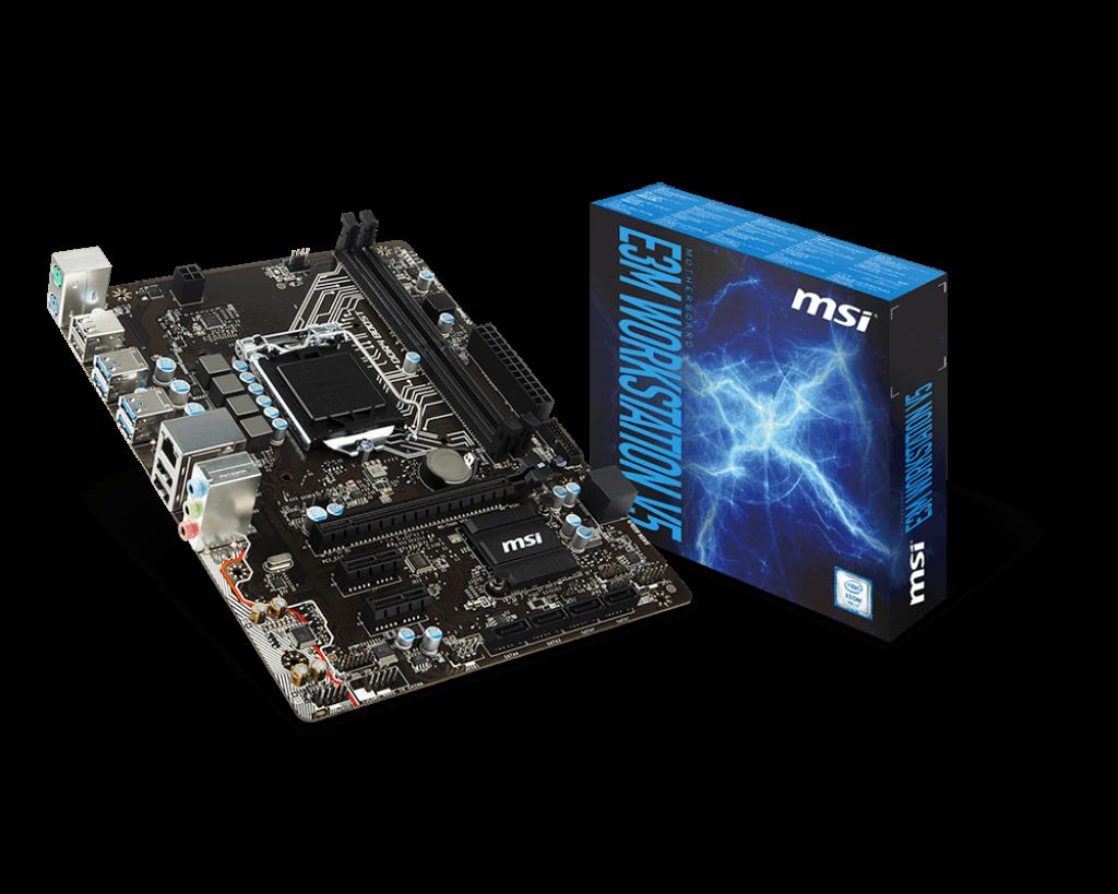 Mainboard MSI E3M WORKSTATION V5 Socket 1151 (E3M WORKSTATION V5)