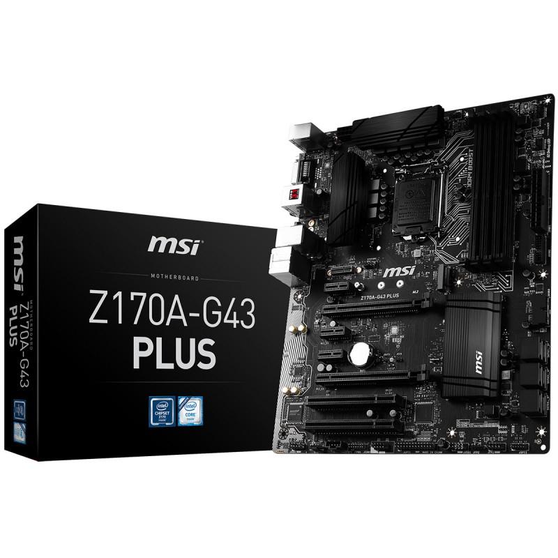 Mainboard MSI Z170A-G43 PLUS Socket 1151 (Z170A-G43 PLUS)