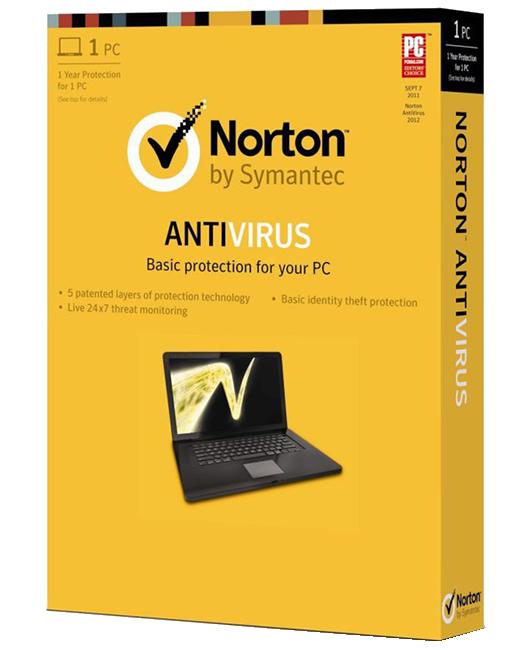 Norton Antivirus (1PC)