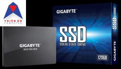 SSD gigabyte 120GB mới 100% bảo hành 3 năm , hàng chính hãng