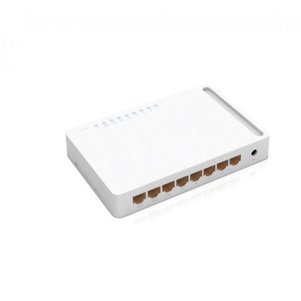 Switch 8 Port 10/100/1000Mbps TotoLink S808G