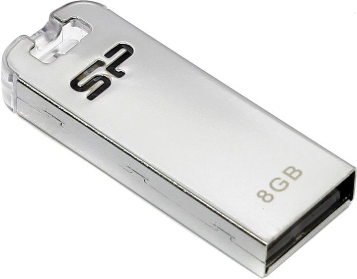 USB Silicon 8GB, 2.0 (SP008GBUF2T03V1F)